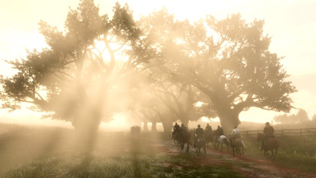 Red Dead Redemption 2 ray tracing