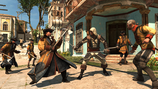 Assassins Creed Rebel Collection Gameplay Swabbies