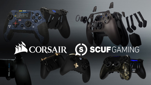 Corsair acquires premium controller maker SCUF Gaming