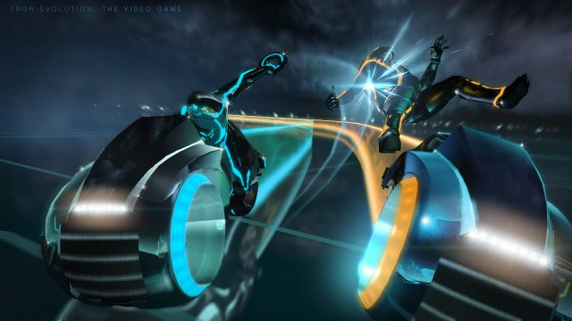TRON: Evolution DRM lightcycle