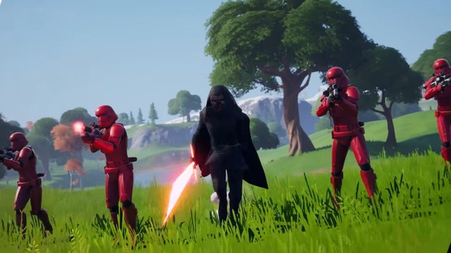Fortnite Kylo Ren skin