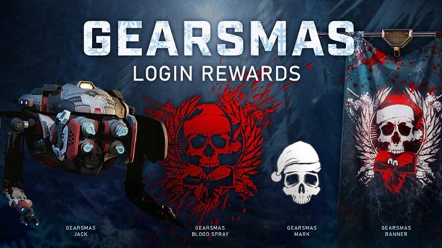 Gears 5 Christmas event