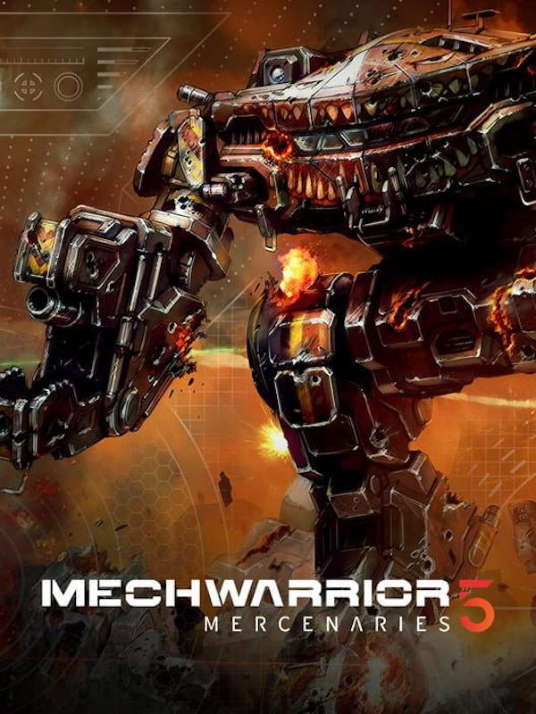 Box art - MechWarrior 5: Mercenaries