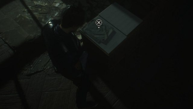 RE2 Chasing Jill Letter in-game