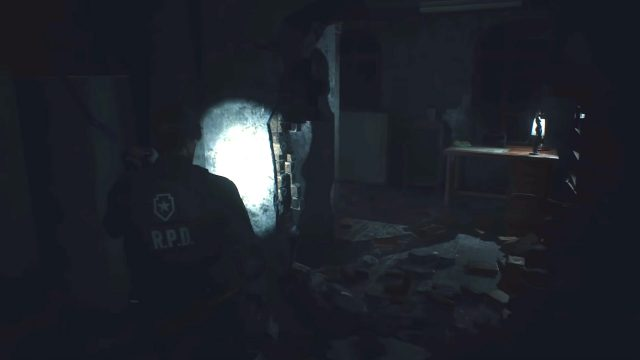 Resident Evil 2 Remake 3rd Floor Office