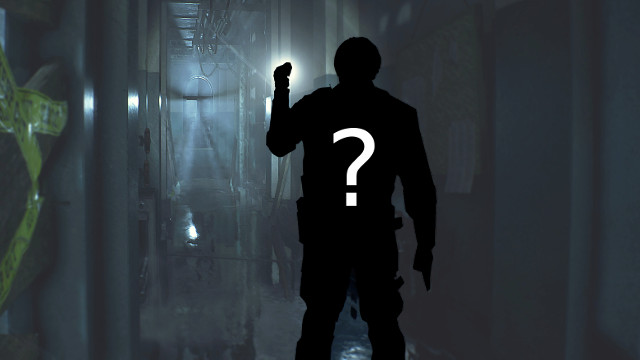 Unannounced new CAPCOM game RE2 silhouette