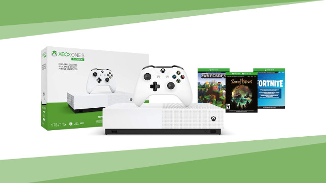 Xbox One S All Digital sale cover