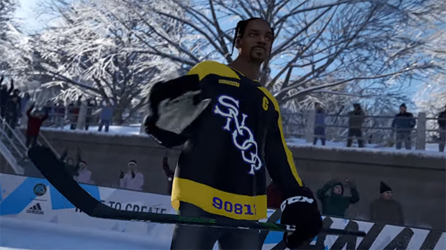 NHL 20 update adds Snoop Dogg as announcer and playable character