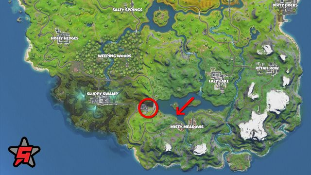 fortnite hydro 16 location map start point