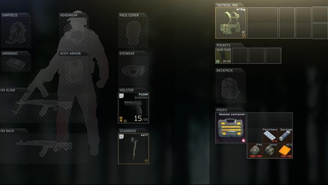 Escape from Tarkov PMC light loadout