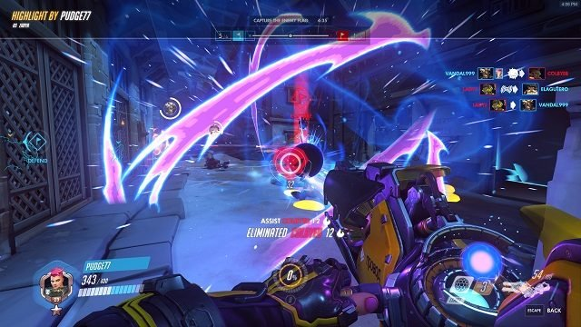 Overwatch 2 CTF Blitz Gameplay Zarya