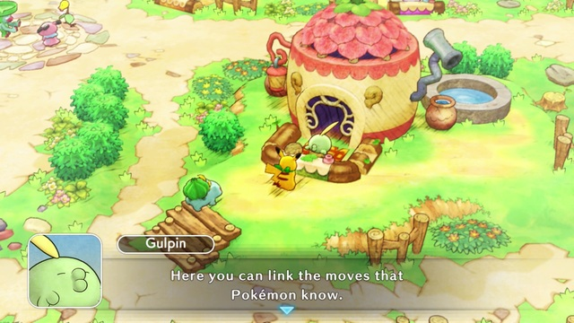 Pokemon Mystery Dungeon DX link moves