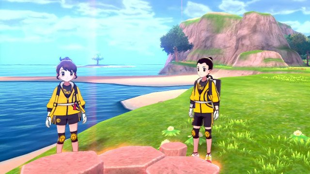 Pokemon Sword and Shield EP Trainers