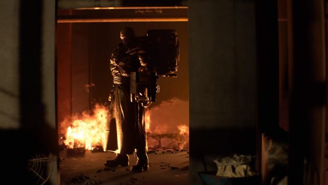 Resident Evil 3 remake Nemesis Trailer Nemesis Flamethrower