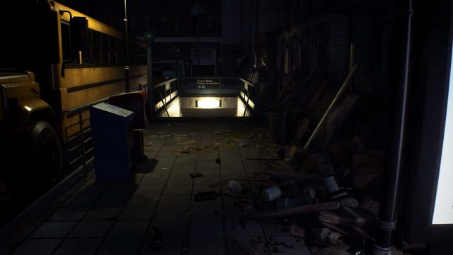 Resident Evil 3 remake Nemesis Trailer Subway Station