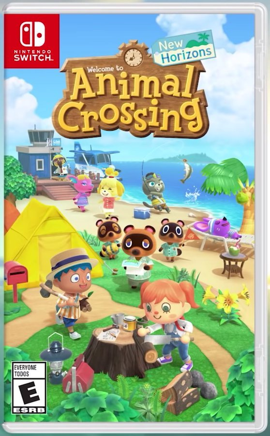 Box art - Animal Crossing: New Horizons