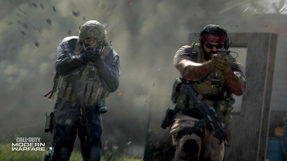 Modern Warfare split-screen co-op Spec Ops
