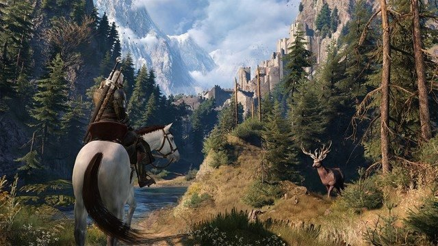 do The Witcher games come after the books