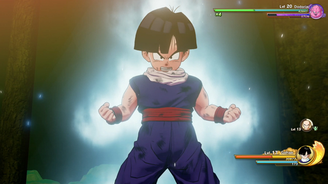 how to play as Gohan in Dragon Ball Z Kakarot