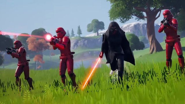 when will lightsabers be out of Fortnite