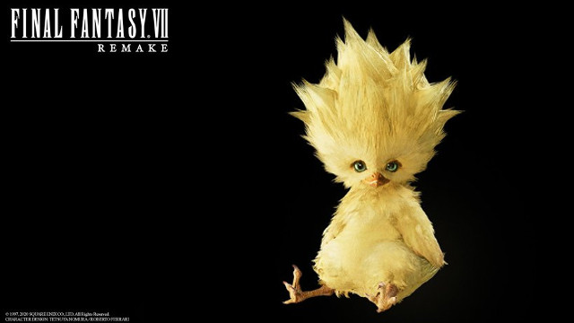 Final Fantasy 7 Remake Chocobo cover