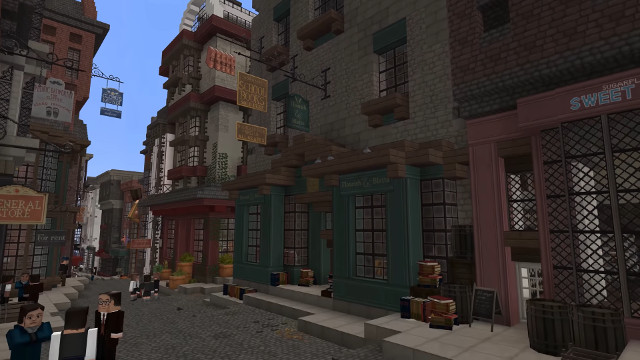 Minecraft Harry Potter RPG Diagon Alley