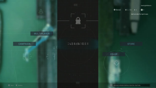 Modern Warfare 'Classified' Mode