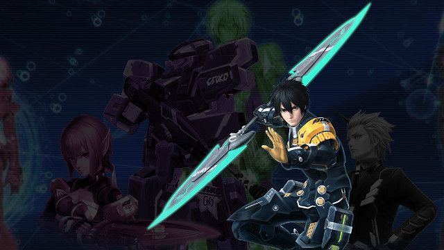 Phantasy Star Online 2 Steam release cover