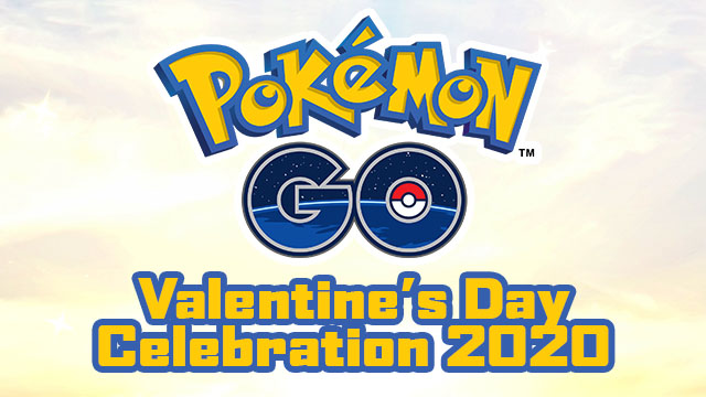 Pokemon Go Valentine's Day Celebration 2020
