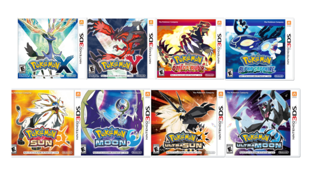 Pokemon X, Y, Omega Ruby, Alpha Sapphire, Sun, Moon, Ultra Sun, and Ultra Moon Pokemon Home
