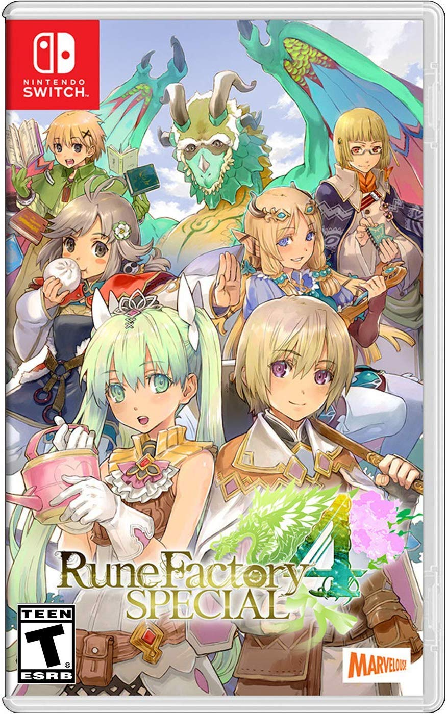 Box art - Rune Factory 4