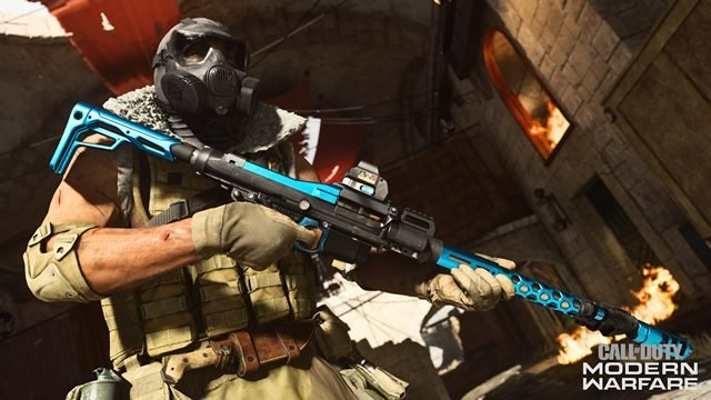 Modern Warfare PS4 exclusive Lucky Strike LMG