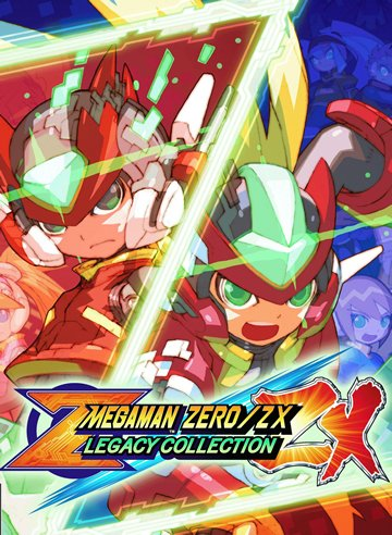 Box art - Mega Man Zero/ZX Legacy Collection