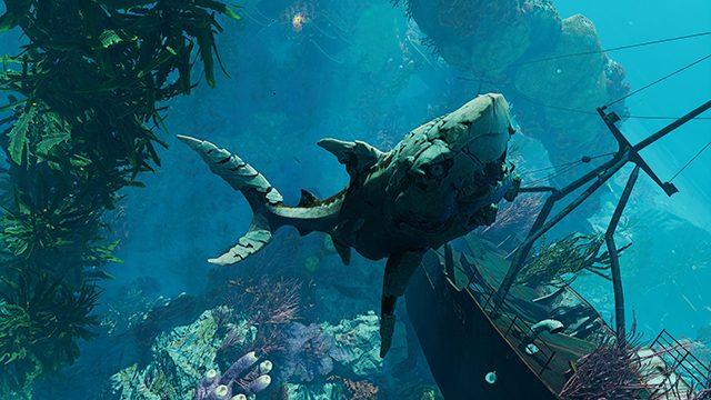 Maneater is not the Untitled Shark Game you're looking for (it's better)