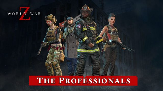 World War Z patch notes Professionals character pack