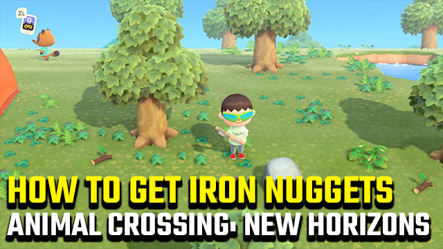 ANIMAL CROSSING NEW HORIZONS IRON NUGGETS