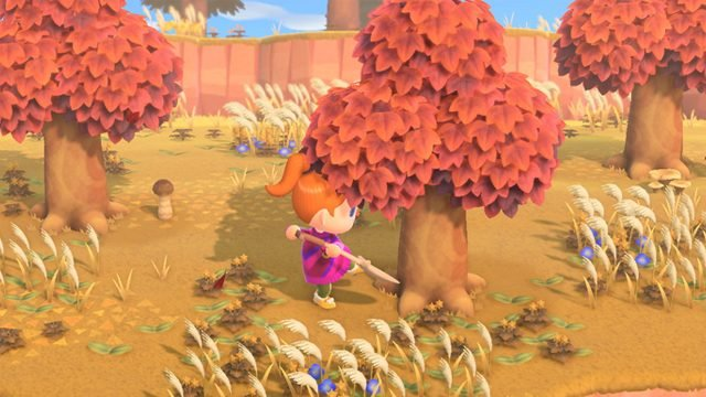 Animal Crossing: New Horizons golden tools