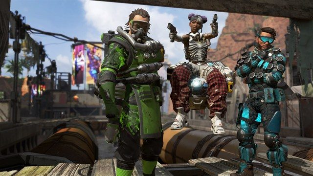 Apex Legends characters locked after update fix