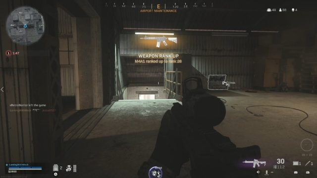 Call of Duty Warzone Weapon XP