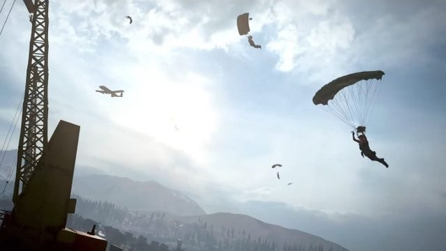 Call of Duty: Warzone drivers parachute