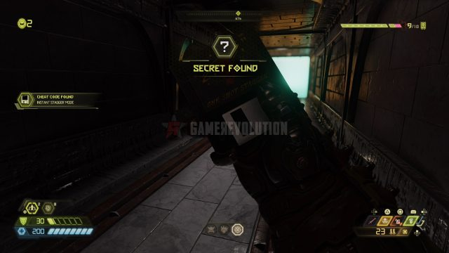 Doom Eternal Instant Stagger Cheat Code disk location