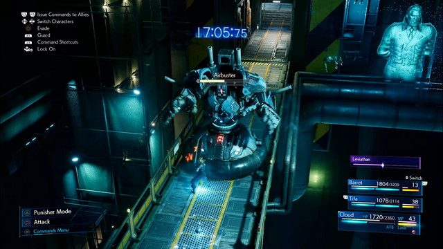 Final Fantasy 7 Hands On Preview Air Buster