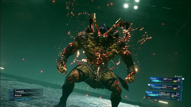 Final Fantasy 7 Hands On Preview Air Buster Ifrit