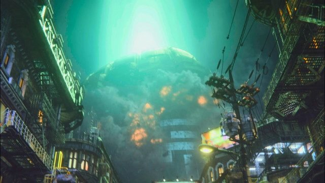 Final Fantasy 7 Hands On Preview Reactor 1 Explosion