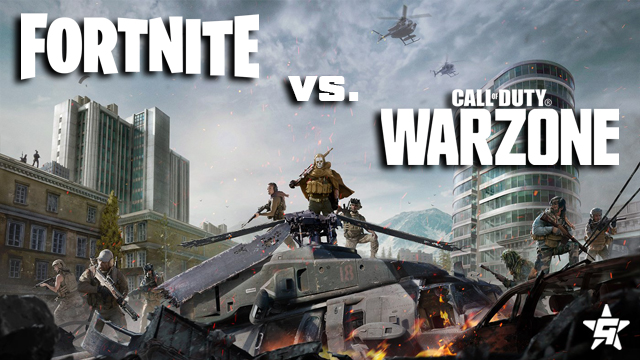 Fortnite vs Call of Duty Warzone