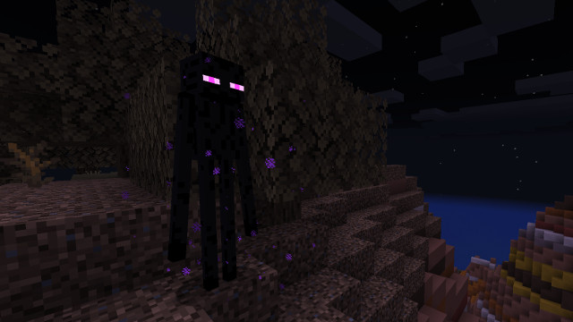 Minecraft Enderman mod cover