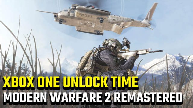Modern Warfare 2 Remastered unlock time Xbox One