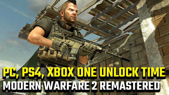 Modern Warfare 2 Remastered unlock time