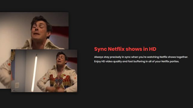 Netflix Party on iPhone