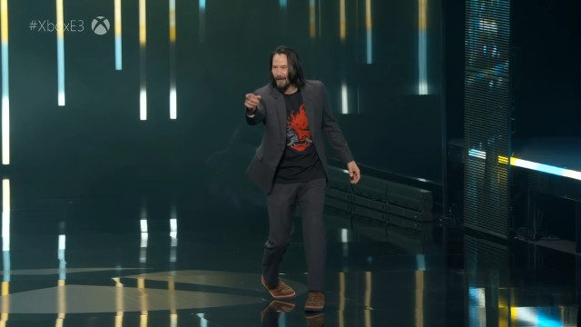 Online E3 2020 convention - Keanu Reeves breathtaking